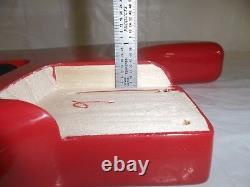 Fender Squier Strat Hardtail Fat Stratocaster Red Orange Body Electric Guitar Ht