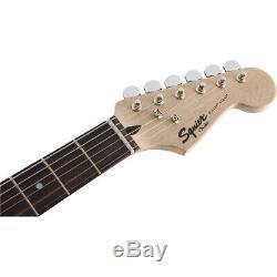 Fender Squier Stratocaster Bullet Strat HSS HT Guitar, Brown Sunburst