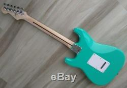 Fender Squier Stratocaster Guitar Turbo+ SSS with Blender MOD Seafoam Strat DEMO