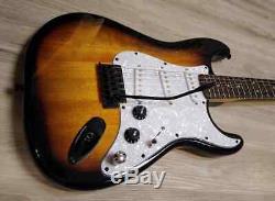 Fender Squier Stratocaster Guitar TurboCharged withBlender MOD Sunburst Strat SSS