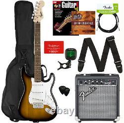Fender Squier Stratocaster Pack Sunburst with Frontman 10G Amplifier