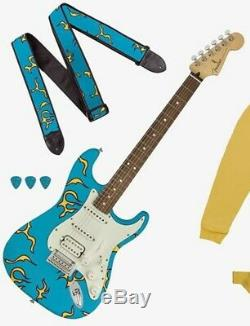 Fender Stratocaster Electric Guitar X Tyler The Creator Golf Wang Flame