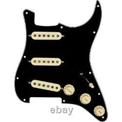 Fender Stratocaster SSS Texas Special Pre-Wired Pickguard Black/White/Black