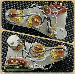 Fender Stratocaster Strat Greasebucket Tone Mod wiring harness loom upgrade kit