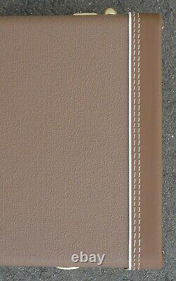 Fender Stratocaster/Telecaster Case 60's Brown Tolex With Orange Satin Int NEW