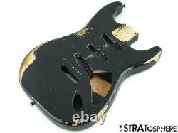Fender USA Custom Shop 1959 Heavy Relic Stratocaster BODY Strat 59 Aged Black