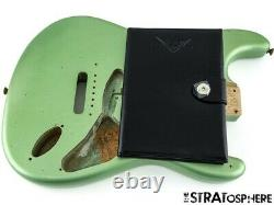 Fender USA Custom Shop 1959 Relic Stratocaster BODY Strat 59 Aged Sage Green