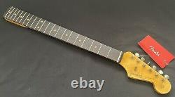 Fender USA Custom Shop 1961 Relic Stratocaster Neck & Tuners Strat Rosewood 61