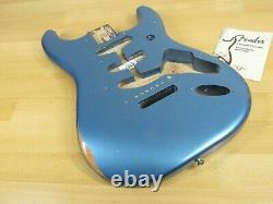 Fender Vintera Road Worn 60s 62 Stratocaster Body Lake Placid Blue Nitro Vintage