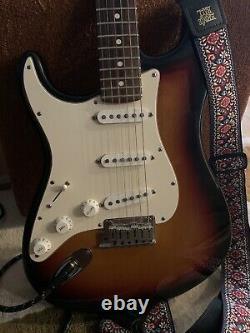 Fender american stratocaster left handed