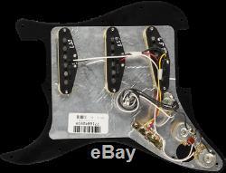 Genuine FENDER Pre-Wired TEX-MEX Loaded Strat 11-Hole Black Pickguard