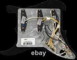 Genuine FENDER Pre-Wired TEXAS SPECIAL Loaded Strat 11-Hole BLACK Pickguard