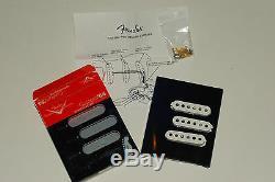 Genuine Fender Custom Shop Custom'54 Strat Pickup Set Vintage Stratocaster New