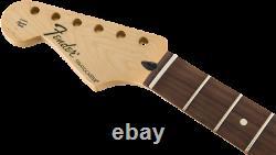 Genuine Fender Standard Series Stratocaster/Strat LH LEFT-HANDED Neck, Pau Ferro