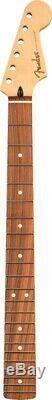 Genuine Fender Sub-Sonic Baritone Stratocaster Neck, 22 Med Jumbo, Pau Ferro
