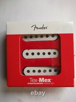Genuine fender stratocaster tex mex pickup set BRAND NEW p/n 099-2131-000