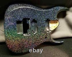 HOLOFLAKE Paint Job on Your Guitar Body! Guitar Refinishing