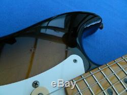 IMPORT 1986-1987 Fender Japan ST-54 Stratocaster Sunburst & new Hard Case MIJ