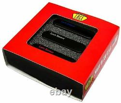 Lace Sensor Blue-Silver-Red 3-Pack S-S-S Pickup Set Black