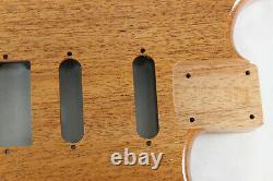 Mahogany HSS Hardtail guitar body fits Fender Strat Stratocaster necks J079