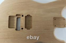 Mahogany Hxx guitar body fits Fender Strat Stratocaster neck Floyd Rose J382