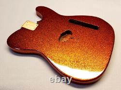 Metal Flake Finish on YOUR Guitar Body! GuitarPaintGuys