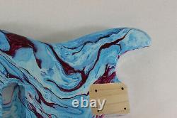 Multicolor Poplar Hxx Strat Stratocaster body Fits Fender neck J279