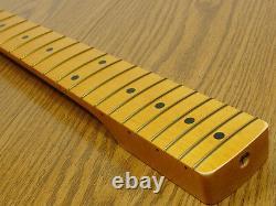 NEW Allparts Fender Licensed Aged Tint Maple for Stratocaster Strat NECK SMVF-C