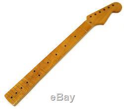 NEW Allparts Fender Licensed for Stratocaster Strat NECK Maple FAT Nitro SMNFFAT