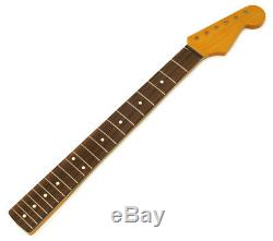 NEW Allparts Fender Licensed for Stratocaster Strat NECK Rosewood NITRO SRNF-C