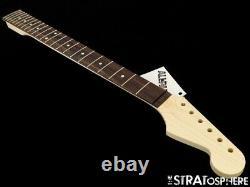 NEW Fender Lic Allparts Baritone Stratocaster NECK Strat Unfin Rosewood SR-BAR