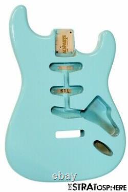 NEW Fender Lic Stratocaster BODY Strat Allparts Vintage Style Sonic Blue SBF-SB