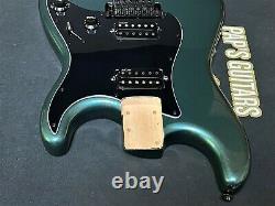 NEW Fender Squier Contemporary Stratocaster GUNMETAL METALLIC LOADED BODY