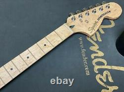 NEW Fender Squier Standard Stratocaster NECK With TUNING PEGS