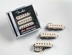 NEW Fender Stratocaster Hot Noiseless Pickup Set, 099-2105-000