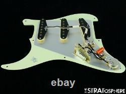 NEW Fender Stratocaster LOADED PICKGUARD Strat 57/62 Mint Green 3 Ply 8 Hole