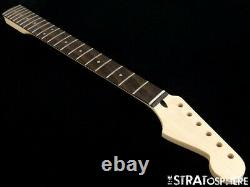NEW Mighty Mite Fender Lic Stratocaster Strat NECK Jumbo Frets, Laurel MM2937-LA
