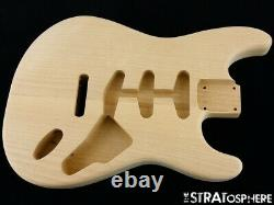 NEW Replacement BODY for Fender Stratocaster Strat, Alder, Natural Unfinished