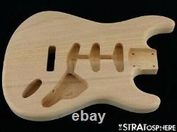 NEW Replacement BODY for Fender Stratocaster Strat, Mahogany, Natural Unfinished