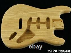 NEW Replacement BODY for Fender Stratocaster Strat, Roasted Ash, Unfinished