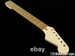 NEW WD Fender Licensed for Stratocaster Strat NECK MAPLE PAU FERRO Modern 22