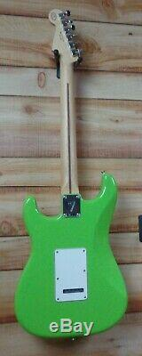 New Fender Limited Edition Player Stratocaster Maple Fingerboard Electron Green