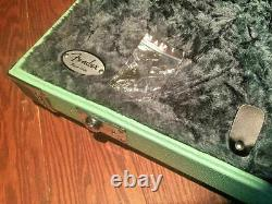 New Fender Surf Green Stratocaster Telecaster Strat Tele Limited Edt Guitar Case