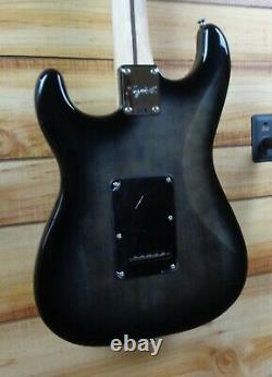 New Squier Affinity Stratocaster FMT HSS Electric Guitar Black Burst