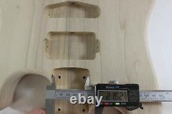 Poplar HSH guitar body fits Fender Strat Stratocaster neck Floyd Rose J398