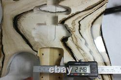 Poplar Hardtail HSH guitar body fits Fender Strat Stratocaster necks J352