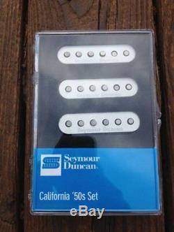 Seymour Duncan SSL-1 California 50's Single Coil Set Fender Stratocaster White