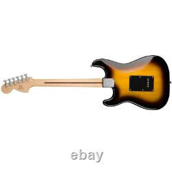 Squier Affinity HSS Stratocaster Electric Guitar Brown Sunburst with Fender Play