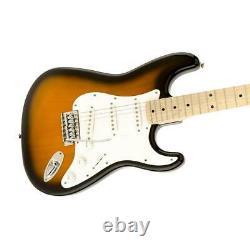 Squier Affinity Series Stratocaster Electric Guitar, Maple, 2-Color Sunburst