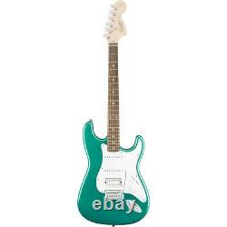 Squier Affinity Series Stratocaster HSS Electric Guitar, Race Green #0370700592